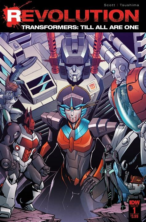 One Revolution by Transformers Till All Are One Revolution 1 Idw Publishing
