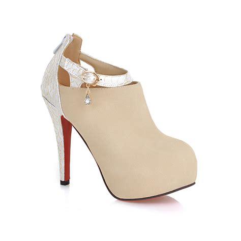 Heels Import Apricot Black armoire fall black apricot beige high heels platform pumps shoes