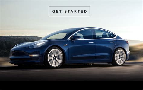tesla model 3 tesla invites model 3 customers to order december