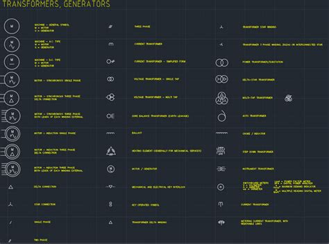 95 electrical legend symbols autocad free cad blocks