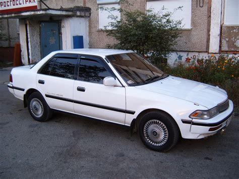 1990s Toyota 1990 Toyota Corona Pictures 1600cc Gasoline Automatic
