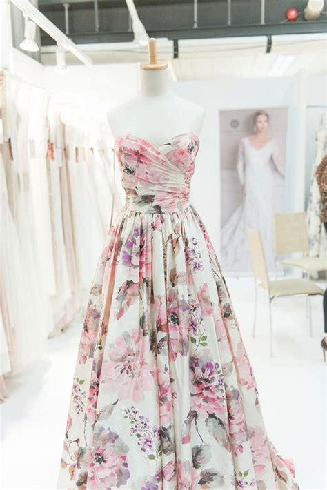 Flower Dress Wedding by 25 Best Ideas About Floral Bridesmaid Dresses On