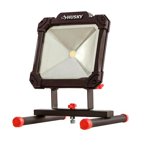 dune easy hang worklight husky 3500 lumen led portable worklight k40069 the home