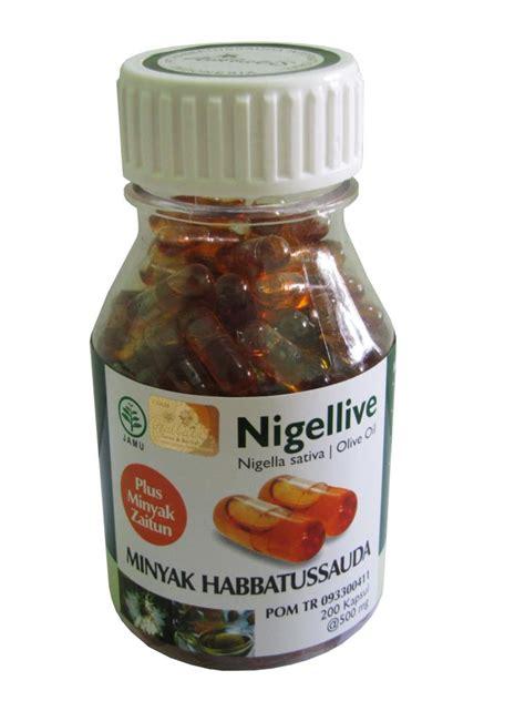 Habbats Kapsul 200 Kapsul habbatussauda elga herbal shop