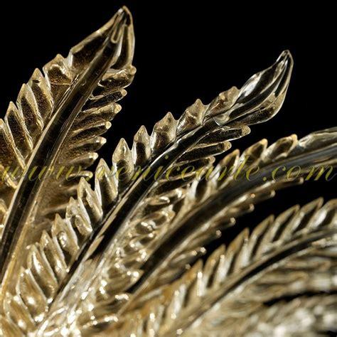 goldene kronleuchter murano kronleuchter goldene bl 228 tter
