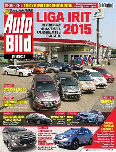 Auto Bild 377 Majalah Otomotif jual majalah auto bild ed 328 november 2015 gramedia
