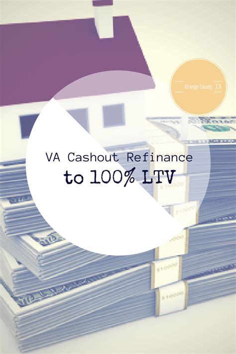 va allows for 100 loan to value out refinancing
