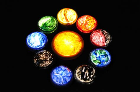 Play At Home Mom Llc Push Light Planets Solar System Light