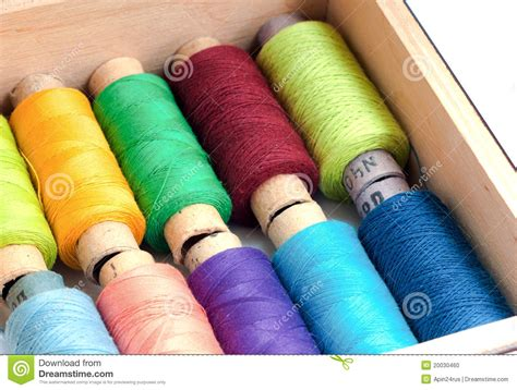 colorful thread wallpaper colorful sewing threads in a box stock photo image 20030460