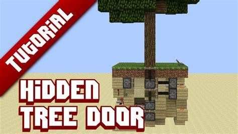 tutorial tree door minecraft project