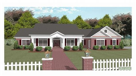 one story country house plans with wrap around porch one story house plans two story house plans one story country one story house plans with