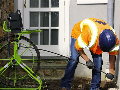 Plumbing Pipe Inspection by Shining A Light In The Pipe Inspection Cameras