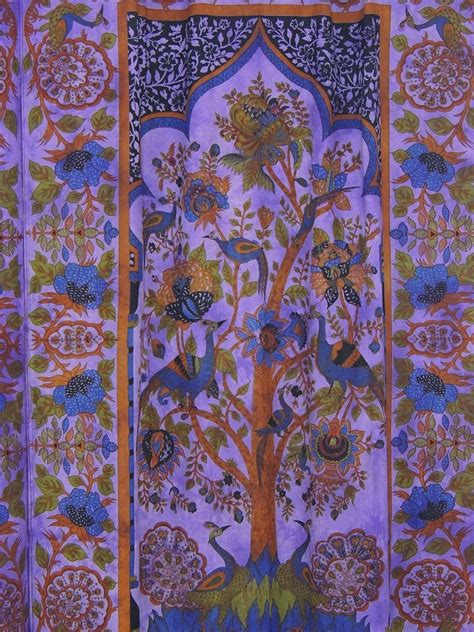 indian fabric curtains cotton fabric indian curtains 2 tree of life block print