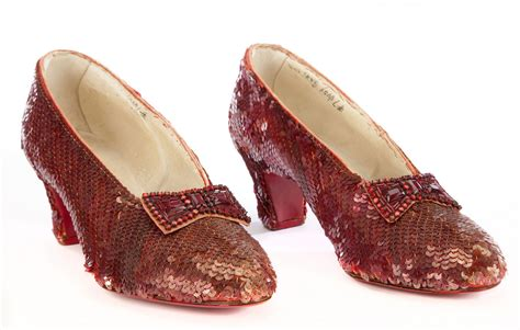 ruby slippers auction price dorothy s ruby slippers expected to fetch 2 million at