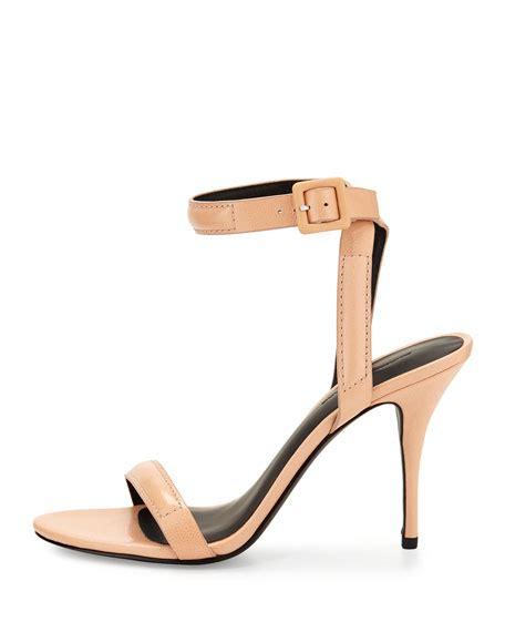 wang antonia sandal wang antonia lizard print leather sandal