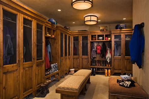 Lakeview House Plans Ski Room Traditional Closet Other Metro By Locati