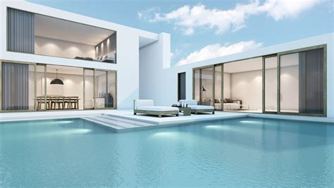 eye catching cool modern house with swimming pool closed 13 modern pools you can t wait to try for yourself