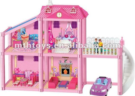 Hot Grand Girl Doll House Games Toy Buy Girl Doll House Doll House Toy Dollhouse