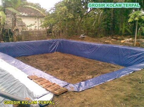cara membuat hidroponik kolam cara membuat kolam terpal di atas tanah agro terpal