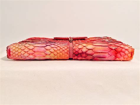 Clutch Python Multi Rainbow L Size new vbh 1st edition multi color python and crocodile
