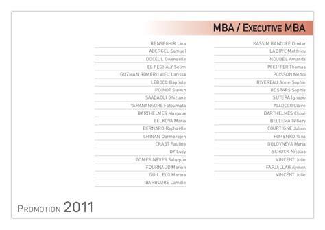 Pfeiffer Mba Curriculum by Graduation 2011 European Institute Of International
