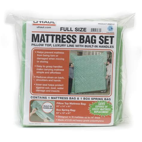 Uhaul Mattress Cover by U Haul Mattress Bag Set