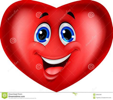 imagenes corazon alegre historieta roja del coraz 243 n ilustraci 243 n del vector