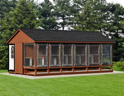 pre built dog houses dog kennels traditional maryland and west virginia