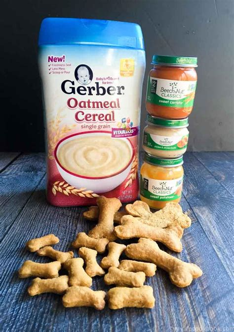 baby food for dogs biscuits made from baby food my cookbook low carb healthy everyday recipes