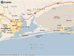 emerald coast of northwest florida maps
