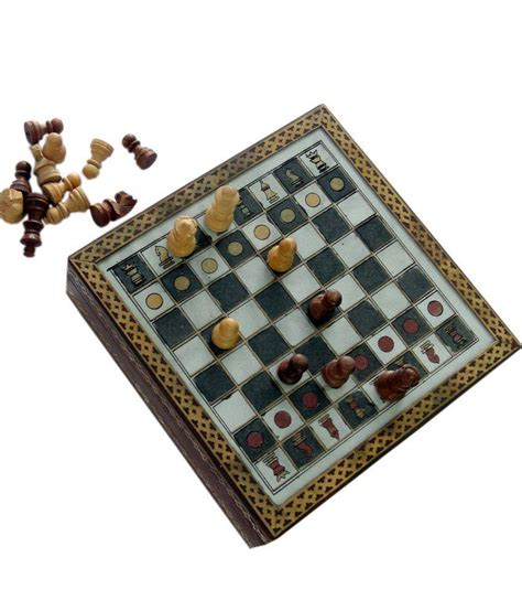 wooden chess set marble pieces from india 20 32 cm amazon jaipur handicraft handmade rajasthani gemstone chessboard