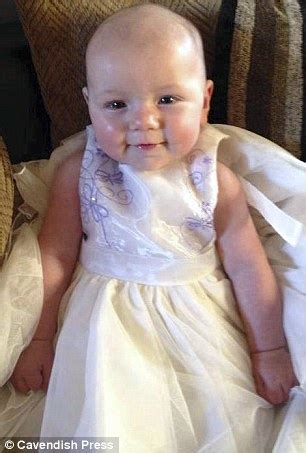 Eight month old baby girl 'died when she got wedged