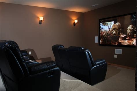 Home Theater Room   Mediterranean   Home Theater