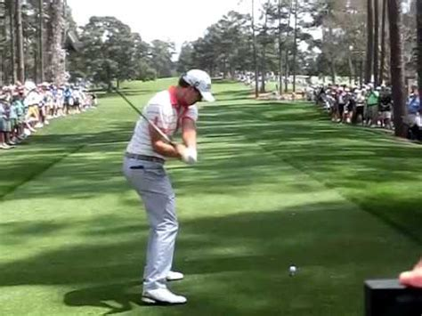 adam scott iron swing super slow of adam scott s swing in masters 2013 in no