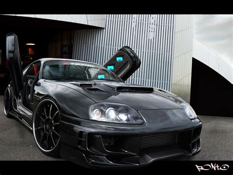 Toyota Supra Black Black Toyota Supra Wallpaper Its My Car Club