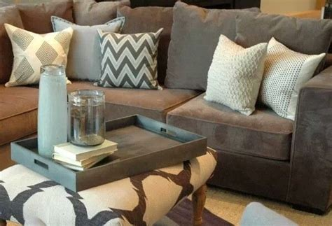 pillows for tan couch grey couch neutral pillows the rustic modern home