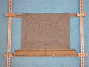 rug hooking frame tools for wool fiber