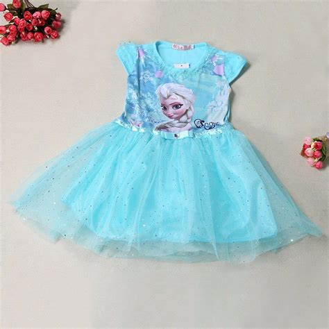 Dress Anak Scuba Frozen dress anak disney frozen size 6t blue jakartanotebook