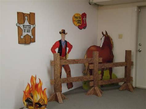 western vacation bible school theme