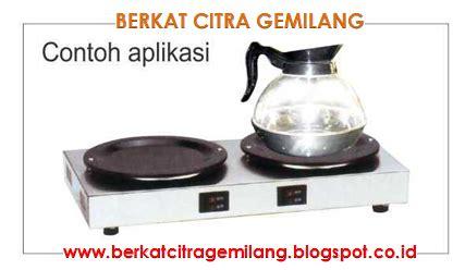Coffee Tea Warmer 2 Decanter Penghangat Kopi Teh 2 Teko G T2909 berkat citra gemilang kopi teh warmer maker gelas penghangat teh dan kopi tabung