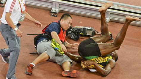 what of is bolt how not to get an usain bolt autograph reacts to usain bolt s epic fall
