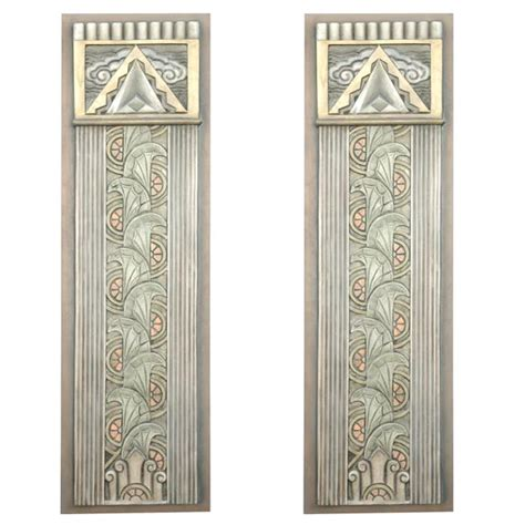 Art Deco Wall Decor | x2 jpg