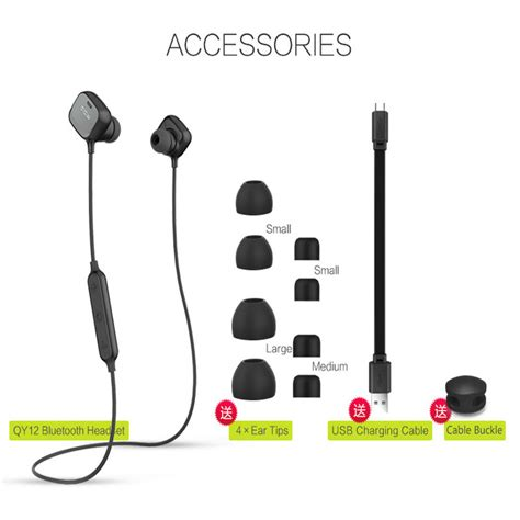 aliexpress qcy oferta qcy original qy12 auriculares inal 225 mbricos