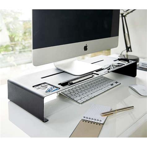 ecran ordinateur bureau r 233 hausseur d 233 cran organiseur de bureau monitor stand