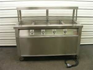 Buffet Steam Table With Sneeze Guard 4 Well Electric Steam Tables Buffet Food Serving