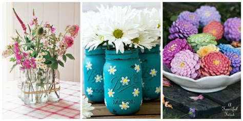 beautiful crafts 35 easy flower crafts ideas for craft projects with flowers