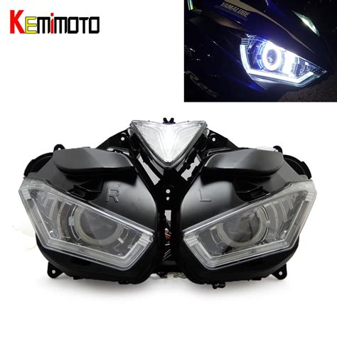 Lu Projector Yamaha R25 kemimoto motorcycle headlight for yamaha yzf r25 r3