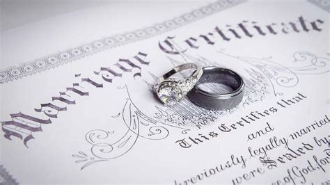 No waiting period marriage certificate
