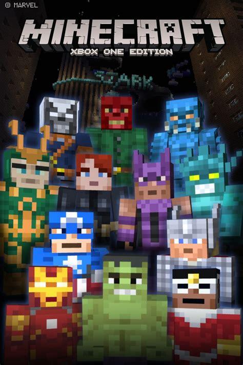 minecraft xbox  edition marvel avengers skin pack