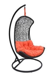 Orange Wicker Chair Clove Urban Balance Curve Porch Swing Chair Model